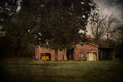 Barn In Tennessee Photograph - A House Or A Barn by Jai Johnson