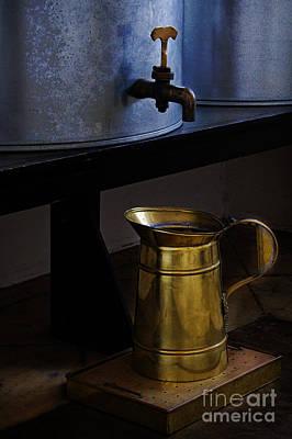 Water Jars Photograph - A Jar Half Full by Elena Nosyreva