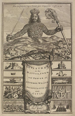 A King With A Crown Holding A Sword Print by British Library