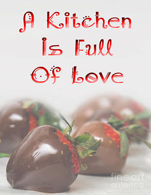 Love Digital Art - A Kitchen Is Full Of Love 1 by Andee Design