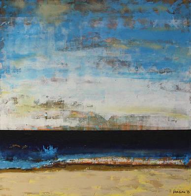 Nature Abstract Painting - A La Plage by Sean Hagan