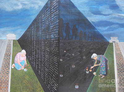 Tolan Painting - A Lesson To Remember by To-Tam Gerwe