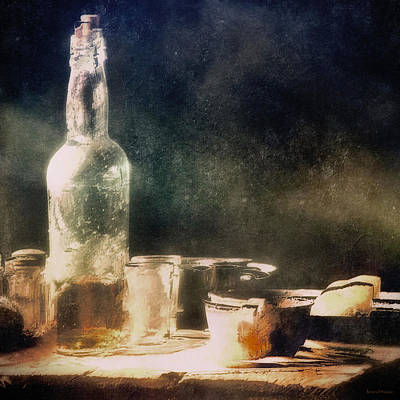 A Light Lunch Print by Barbara D Richards