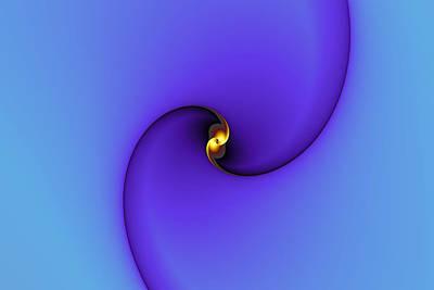 Eggleston Digital Art - A Little Bit Of Gold by Mark Eggleston
