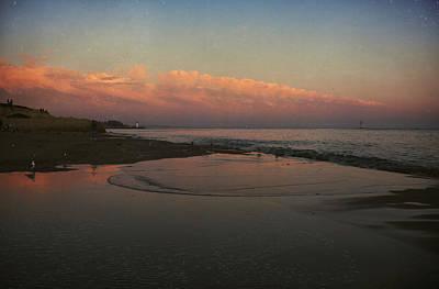 Coastline Digital Art - A Little Bit Of Peace by Laurie Search
