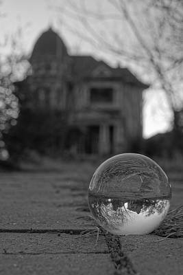 Haunted House Photograph - A Little Different Perspective by Jonathan Davison