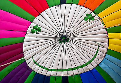 Hot Air Photograph - A Little Luck Of The Irish by Marcia Colelli