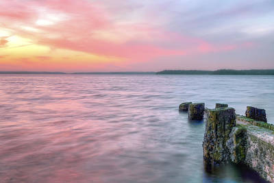Hobart Photograph - A Long Island Sunset by JC Findley