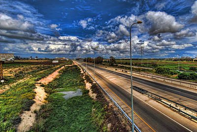 Landscape Photograph - a majestic springtime in Israel by Ron Shoshani