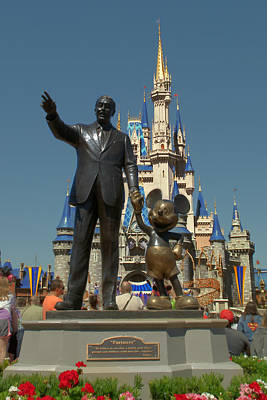 Walt Disney World Photograph - A Man A Mouse A Dream by Ryan Crane