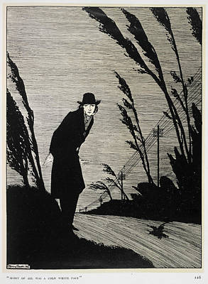 Recent Photograph - A Man Dressed In Black by British Library