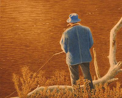 A Man Unto Himself Original by Norm Holmberg