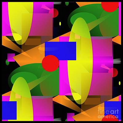 Abstrait Digital Art - A Matter Of Perspective - Series by Glenn McCarthy Art and Photography