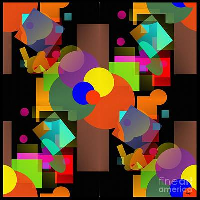 Abstrait Digital Art - A Matter Of Perspective Too - Series by Glenn McCarthy Art and Photography