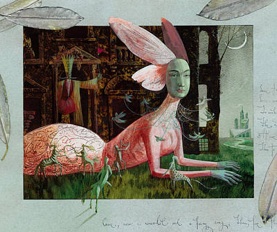 Centaur Painting - A Midsummer Night's Dream by Victoria Fomina