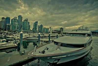 A Million Dollar Ride Yacht  Print by Eti Reid