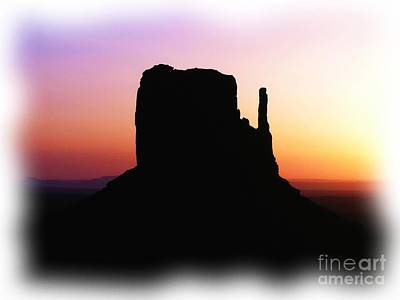 Mixed Media Photograph - A Monumental Silhouette 2 by Mel Steinhauer