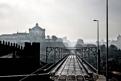 Porto Photograph - A Morning Day by Jorge Maia