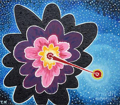 Taikan Painting - A New Star Is Born. by Taikan Nishimoto