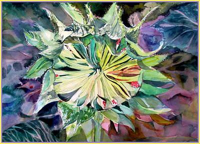 A New Sun Flower Original by Mindy Newman