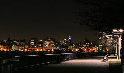 Streetlight Photograph - A Night In The Park by JC Findley