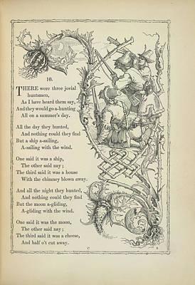 Nursery Rhyme Photograph - A Nursery Rhyme by British Library