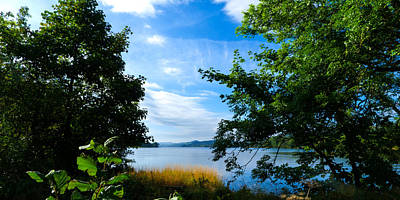 Lake District Photograph - A Peak At Coniston Water by Steven Garratt