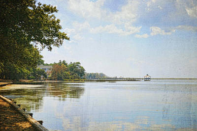 Nature Photograph - A Perfect Currituck Day by Paulette B Wright