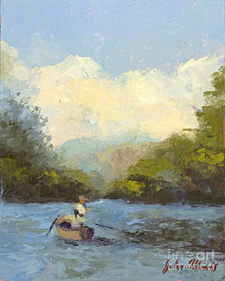 Tennessee Painting - A Perfect Day by John Albrecht