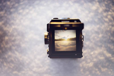 Camera Photograph - A Photographer's Perspective by Amber Fite