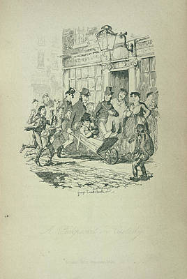 Personalities Photograph - A Pickpocket In Custody by British Library