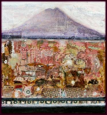 A Piece Of The Mountain Print by Nalini Cook