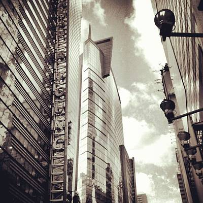 A Piece Of Times Square  Original by Azy Foley Photography