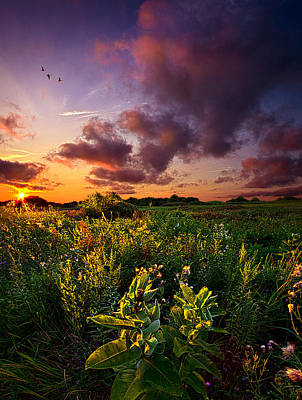 A Place To Camp Print by Phil Koch