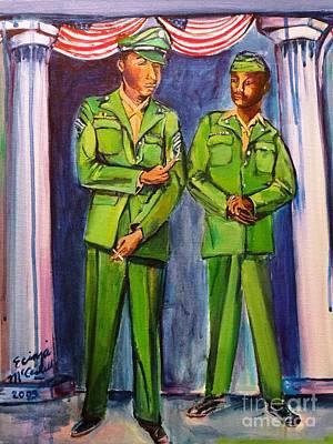 Daddy Soldier Original by Ecinja Art Works