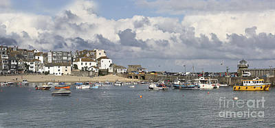 A Postcard From St Ives Print by Terri Waters