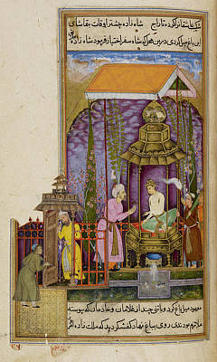 Abduction Photograph - A Prince With His Kidnapper by British Library