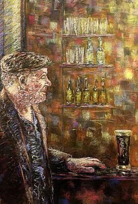 A Quiet Guinness Print by John  Nolan