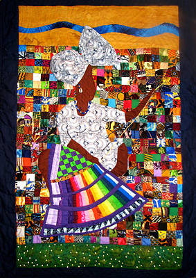 Tapestry - Textile - A Quilter's Dream by Aisha Lumumba