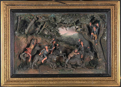 A Race Of Chimney-sweeps On Donkeys, Samuel Percy Print by Litz Collection