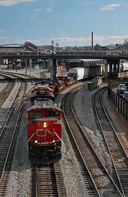 A Railroad Town Original by Suzanne Gaff