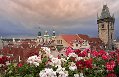 Rainy Day Photograph - A Rainy Day In Prague 2 by Madeline Ellis
