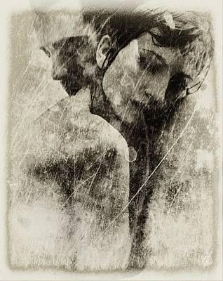A Rainy Day We Need Closeness Print by Gun Legler