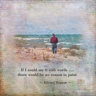 A Reason To Paint II Print by Pamela Baker