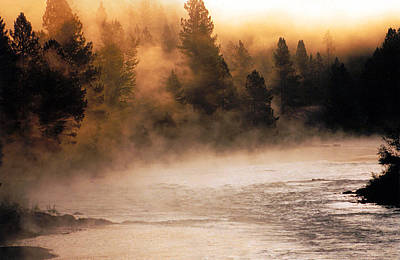 Montana Landscape Photograph - A River Runs Through It by Thomas Schoeller