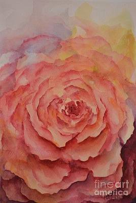 A Rose Beauty Print by Kathleen Pio