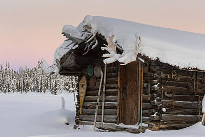 Log Cabin Photograph - A Rustic Cabin by Tim Grams