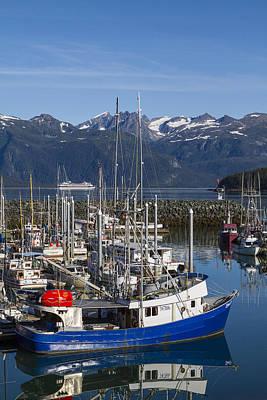 Prints Of Alaska Photograph - A Scenic Harbor by Tim Grams