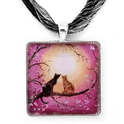 A Shared Moment Pendant Original by Laura Iverson