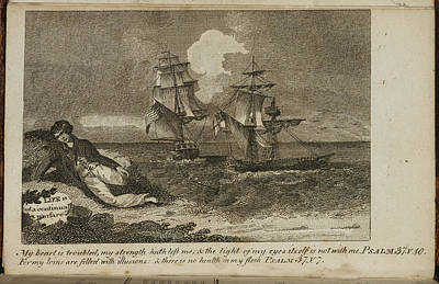 A Shipwreck Scene Print by British Library